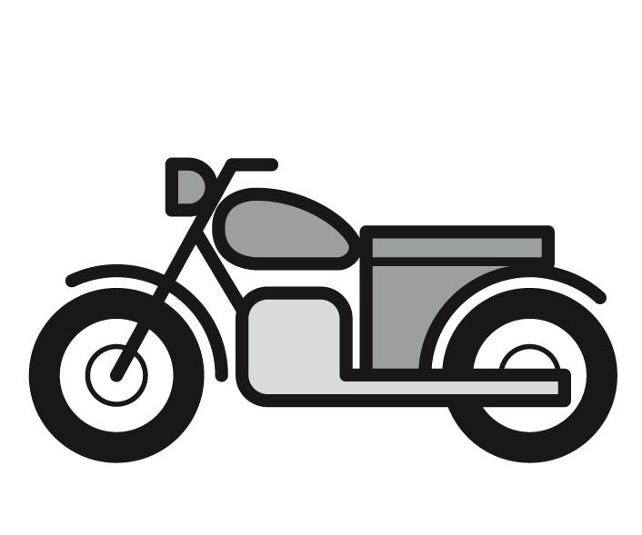 Der Motorroller