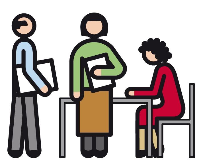 Unterricht im Lehrerzimmer